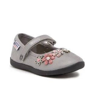 Naturino Express Nicolina Floral Appliqué Shoes